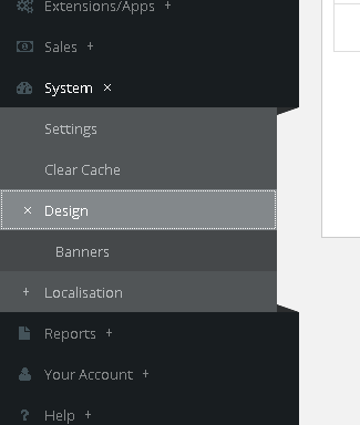 How to manage banners