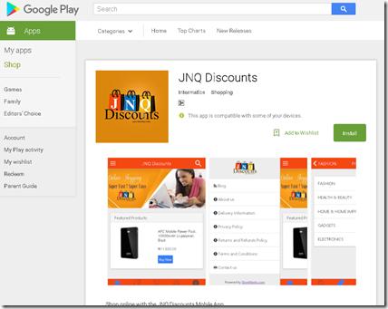 New App: JNQ Discounts