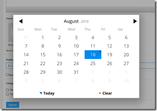 New Feature: Scheduling blog posts