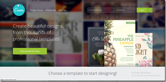 Create beautiful banners for free
